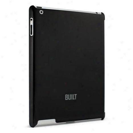 Protective Smart Back For Ipad 2 By Built - Black