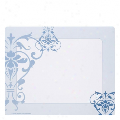 Provence Mousw & Memo Pad By Carolina Pad - Light Blue