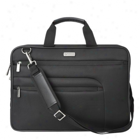 Randall 17 Inch Laptop Bag - Blaci