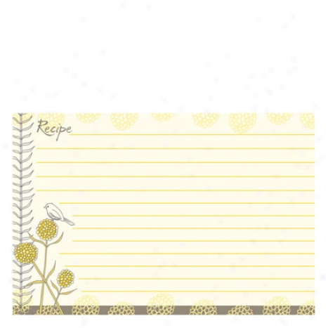 Recipe Cards - Nora By GinaB . Designs