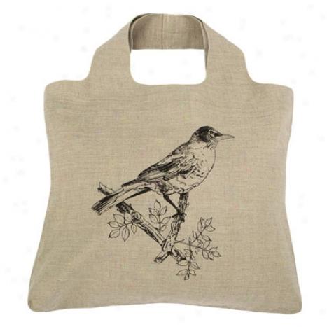 Reusable Bag By Envirosax - Linen Natral B7