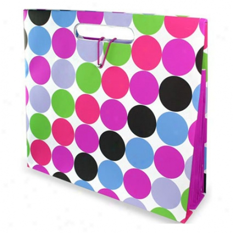Room It Up Studio Dot Smooth Folder Tote By Capri Designs