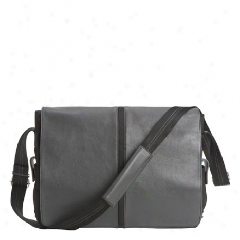 Ryder Messenger Bag - Gray/black