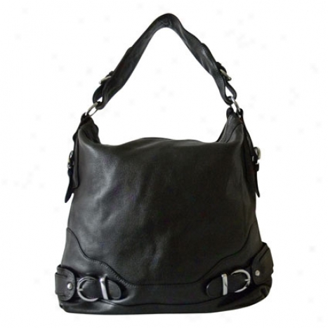 Salina Elegance Tote Bag By Donna Bella Designs - Black