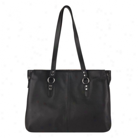 Samsonite Leather 15 Inch Laptop Tote