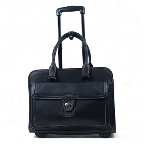 Samsonite Simulated Leathsr Wheeled Case