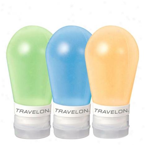 Set Of 3 Smart Tubes 3 Oz - Orange/blue/green