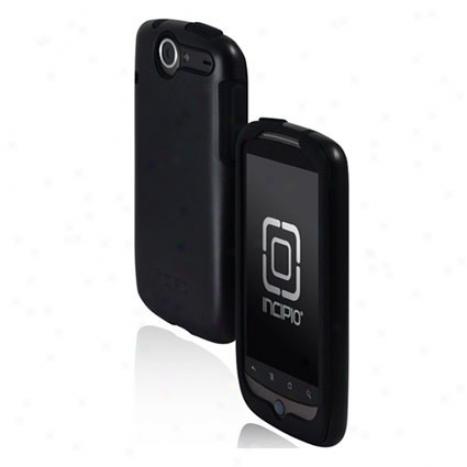 Silicr6ilic For Google Nexus One By Incipio - Black/black