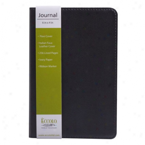 Simply Black Journal By Eccolo - Small