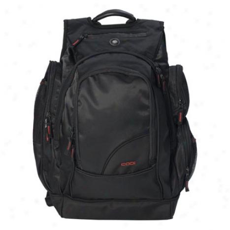 """sport-pak Technical 17"""" La;top Backpack - Black"""