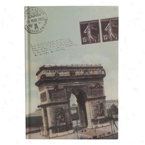 Standard Passport Journal By Ecfoo - Arc De Triomphe