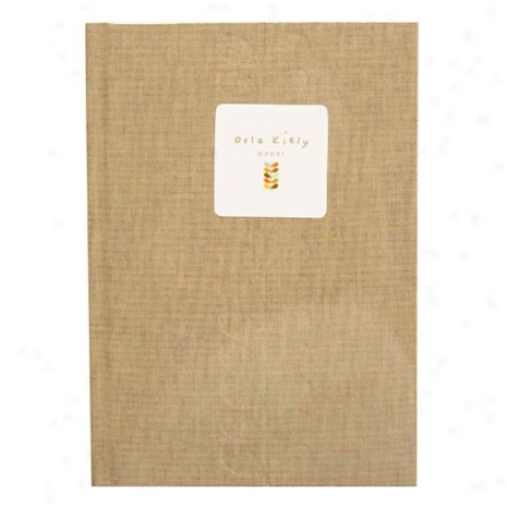 Stem Address Book By Orla Kiely - Khaki