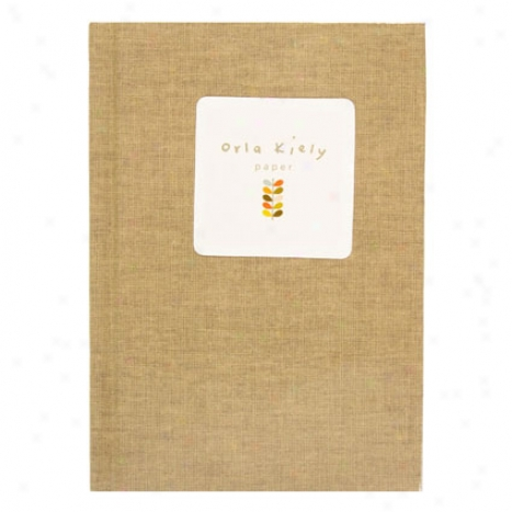 Stem Newspaper By Orla Kiely - Khaki Leqf