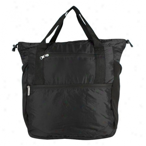 Stow-away Backpack/tote Duo - Black Nylon