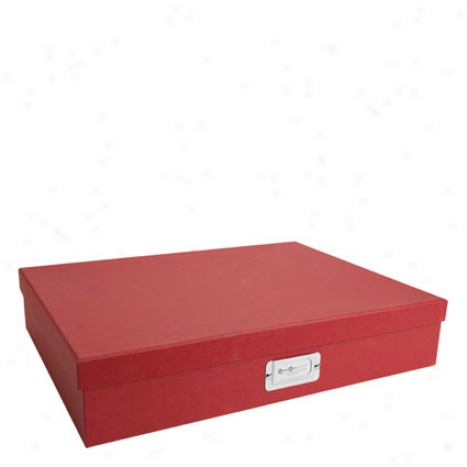 Sverker Classic Document Box A3 By Bigso Box Of Swedeb - Red
