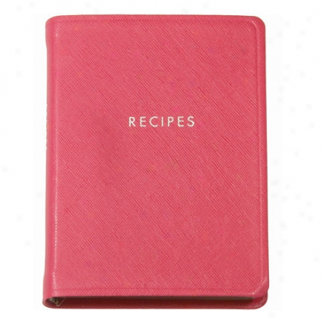 Tabbed Journal Recipes By Graphic Image - Pink