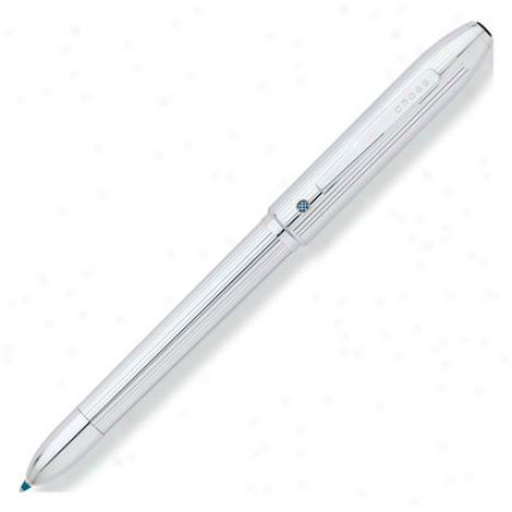 Tech 4 Multifunctoin Pen By Cross - Bright Chrome