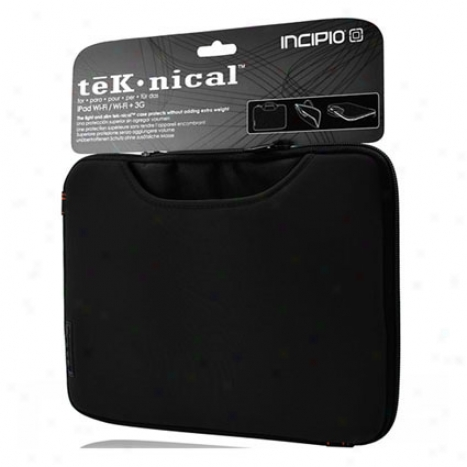 Tek-nical Sleeve For Apple Ipad 1 By Inclpio - Black