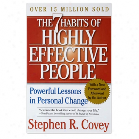 The 7 Habits Of Highly Effective People 15th Anniversary Edition - Hardcover