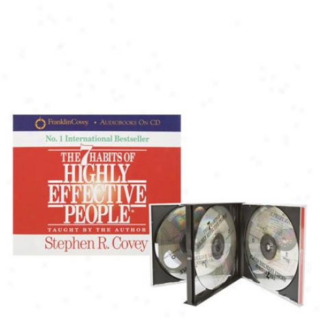 The 7 Habits Of Highly Effective People - 3 Cd Set