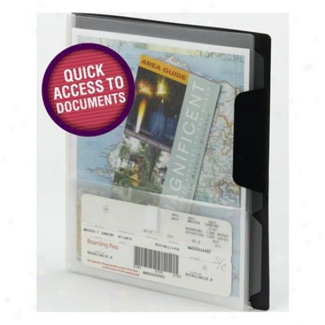 Travel Organizer 2 Pack By Smead - Black