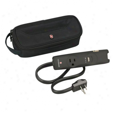 Travel Power Strip - Black By Victorinox