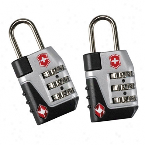 Travel Sentry Approved Lock Set - Blaco By Victorinox