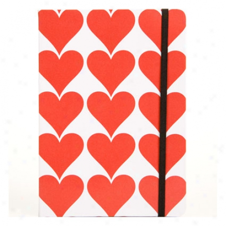 True Love B6 Elastic Journal By Carolina Pad