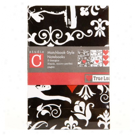 True Love Matchbook Set 3 By Carolina Pad