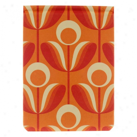 Wallflower Fliptop Jotter By Orla Kiely