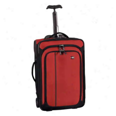 Werks Traveler 4.0 Wt Ultra Light Carry On By Victorinox - Red