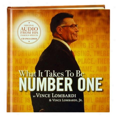 What It Takes To Be Number One W/cd/dvd At Simple Truths