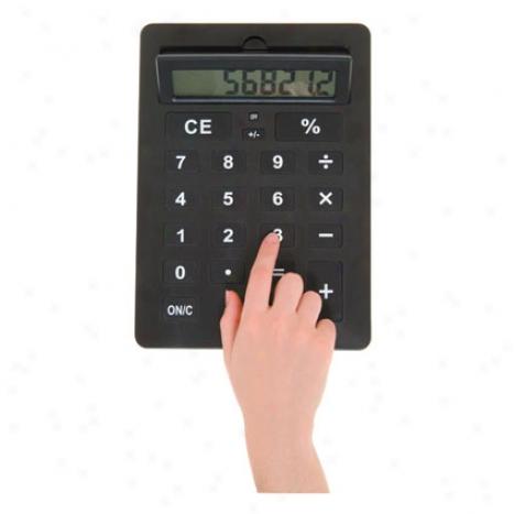 Xxl Calculator By Kikkerland - Black