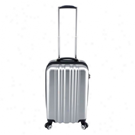 """zcase 22"""" Carry On By Heys - Silver"""
