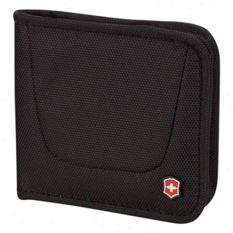 Zip-around Travel Wallet - Black By Victorinox