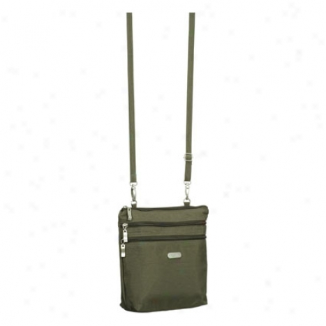 Zipper Bagg From Baggallini - Gloomy Olive/spiice