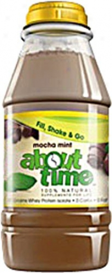 About Time's Shake Rdt Mocha Mint 31gm