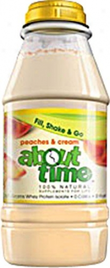 About Time's Shake Rdt Peaches N Cream 31gm
