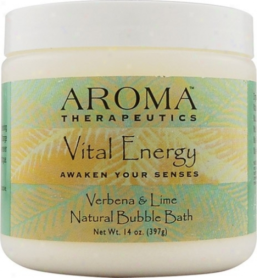 Abra Therapeutic's Aroma Bubble Bath Living Energ 14oz