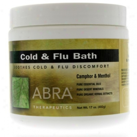 Abra Therapeutic's Bath Cold And Flu 17oz
