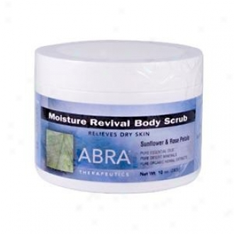 Abra Therapeutic's Body Scrub Moisture Revive 10oz