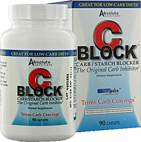 Absolute Nutrition's C Block Carbo Inhibitor 90ct