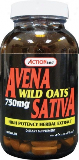 Agency Labs Avena Sativa (Uncivilized Oats) 100tabs