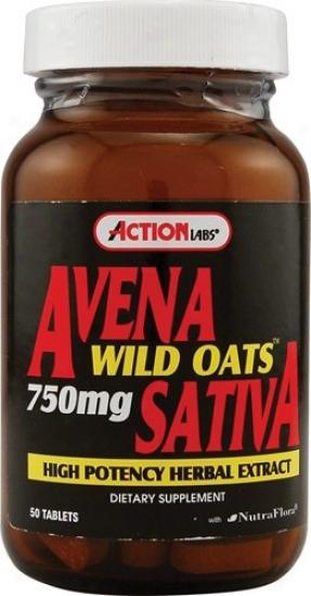 Subject Labs Avena Satjva (wild Oats) 50tabs