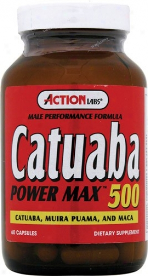 Action Labs Catuaba Power Max 60czps
