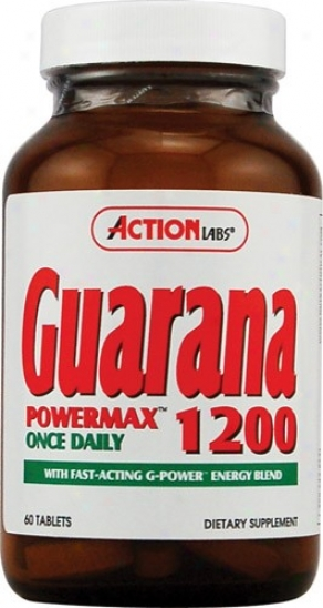 Action Labs Guarana Power Max 1200 60tab