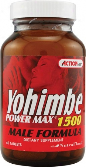 Action Labs Yohimbe Power Max 1500 60tab