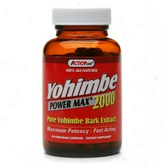 Action Labs Yohimbe Power Max 2000 50caps