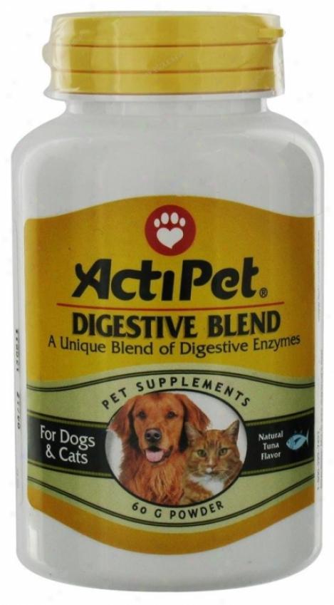Actipet's Digestivd Blend 60g Powder