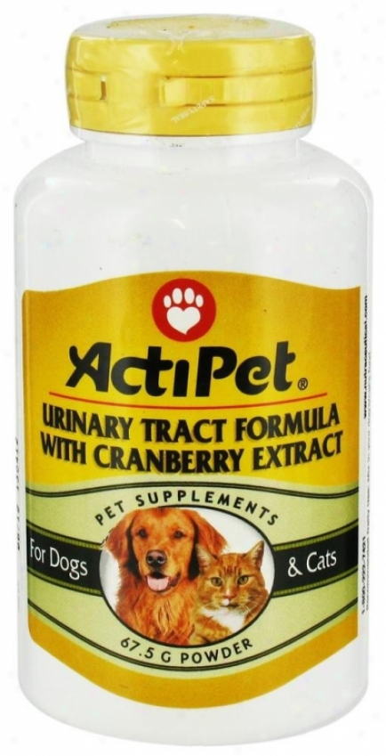 Actipet's Urinary Tract Formula 67.5g Pwd